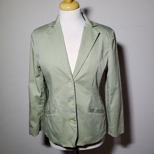Womens LL Bean Vintage Blazer 6 PET 0APU4